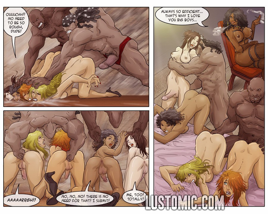 Порно комиксы рун