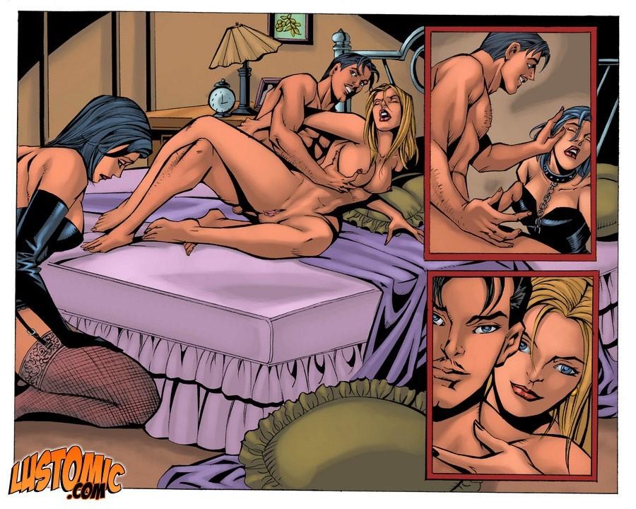 переодевание комиксы порно