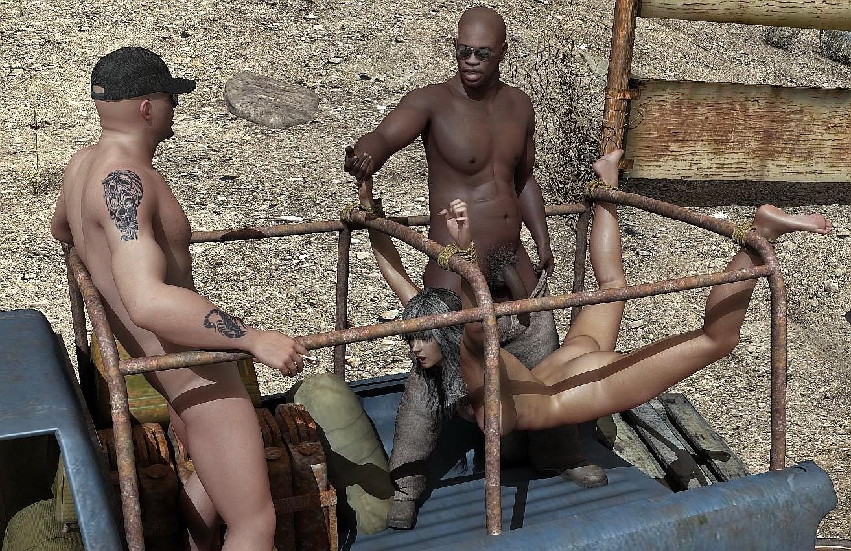 African slave fantasy hardcore scene